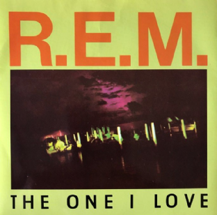 "R.E.M. ‎- The One I Love (7"") (EX-/EX-)"